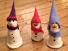 Workshop Schneemänner filzen
